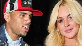Chris Brown a Lindsay Lohan.