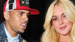 Chris Brown a Lindsay Lohan.