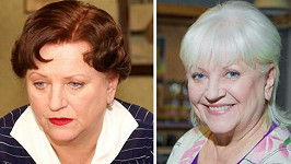 Zdena Herfortová v Četnických humoreskách v roce 1997 a v Doktorech z Počátků v roce 2014