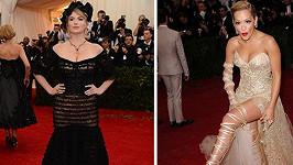 Módním omylem byly tentokrát Rita Ora s Kate Upton.