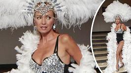 Kateřina Brožová v sexy kostýmu
