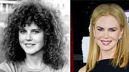 Nicole během třiceti let zkrásněla.