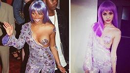 Lil Kim vs. Miley Cyrus.