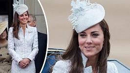 Vévodkyně na výročních oslavách Trooping the Colour