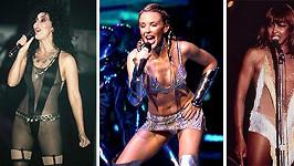 I toto si kdysi oblékly Cher, Kylie a Tina na pódium...