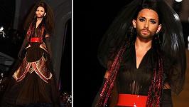 Conchita Wurst znovu boduje. Tentokrát v modelingu.