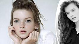Eva Klímková je velmi podobná Kate Moss zamlada.