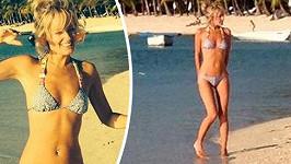 Hasselhoffova přítelkyně Hayley je kus.
