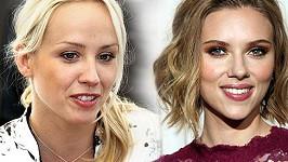 Petra Hřebíčková a Scarlett Johansson