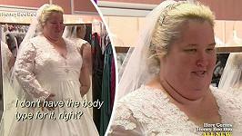 June Shannon jako nevěsta...