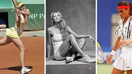 Tři královny krásy bílého sportu...