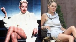 Sharon Stone si zopakuje své nejznámější filmové gesto.