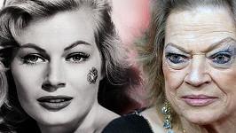 Anita Ekberg se hodně změnila.