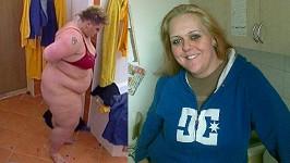 Sandra Bartošová přišla o šedesát kilo odporného tuku.