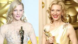Cate Blanchett po devíti letech.