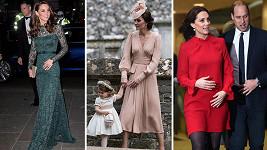 Vévodkyně Kate v roce 2017
