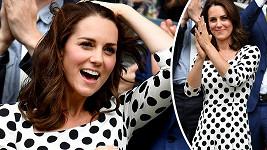 Vévodkyně Kate si nenechala ujít zápas ve Wimbledonu.