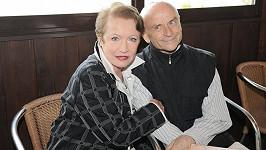 Hana Maciuchová s Bořivojem Navrátilem v seriálu Ulice.