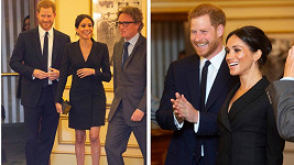 Harry a Meghan vyrazili do divadla.