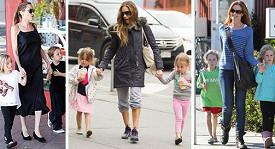 Dvojčátky se může pochlubit Marcia Cross, Angelina Jolie i Sarah Jessica Parker.