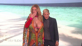 Julia Roberts s Ellen DeGeneres v její show