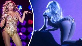 Beyoncé předvedla žhavou show.