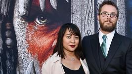 Duncan Jones se svou ženou v červnu na premiéře svého snímku Warcraft: První střet