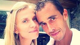 Michaela Ochotská a Lukáš Rosol se těší na první dítě.