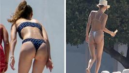 Gigi a Bella Hadidovy odhalily hodně kůže.