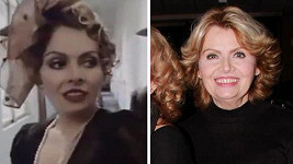 Dana Vlková ve filmu Smrt krásných srnců (1986) a dnes