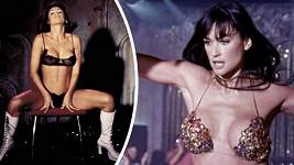 Demi Moore ve své slavné roli ukázala téměř vše.