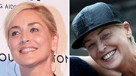 Dvě podoby Sharon Stone