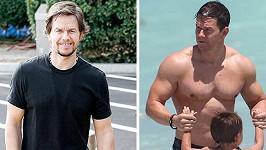 Mark Wahlberg viditelně zhubnul.