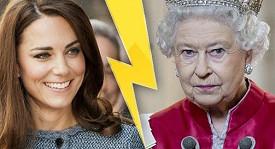 Královna Alžběta II. označila Kate jako línou a hloupou ženu.