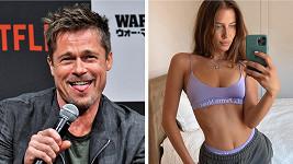 Brad Pitt se objevil s touto kráskou po boku.