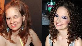 Kristína Zakuciová se vrátila ke svému studentskému vzhledu.