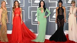 Kdo zářil na Grammy 2013.