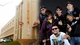 Rockeři ze Spišské Nové Vsi zničili bar hotelu v Milevsku.