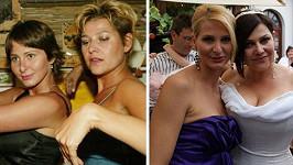 Takhle Ivana s Ilonou rošťačily v roce 2003.