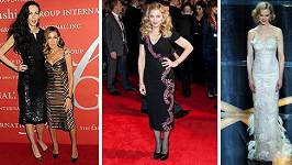 Modely z dílny Jaggerovy přítelkyně vyhledávaly přední filmové hvězdy.