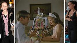 Adam a Sandra Novákovi před 20 lety a dnes