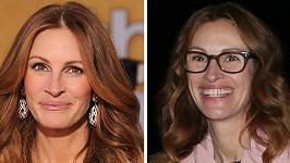 Dvě podoby slavné herečky.