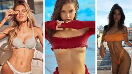 Tyto slavné modelky se rády fotí v plavkách.