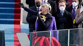 Zpěvem hymny ukončila Lady Gaga inauguraci 46. amerického prezidenta Spojených států.