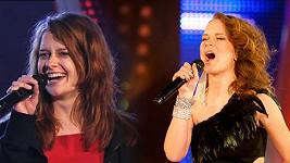 Jako by na fotce byly dvě různé ženy. Ve skutečnosti se jedná o jednu a tu samou zpěvačku Kristínu Zakuciovou.