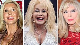 Tyhle tři slavné dámy bojují se stářím urputně pomocí plastických zákroků.