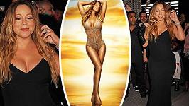 Mariah Carey představila v New Yorku své poslední album.