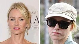 Dvě podoby Naomi Watts.