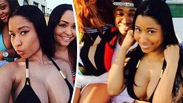 Nicki Minaj a její slavný hrudník