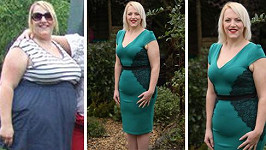 Kerry zhubla téměř padesát kil.